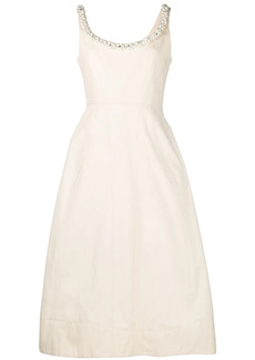 Simone Rocha pearl-embellished structured dress