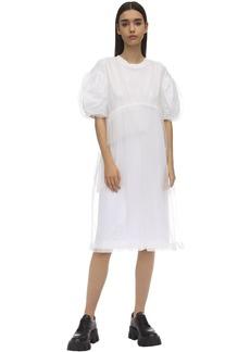 Simone Rocha Puff Sleeve Baby Doll Dress