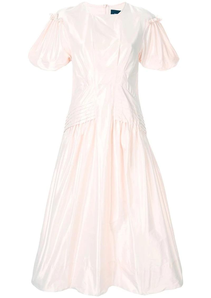 Simone Rocha ruffle sleeve dress