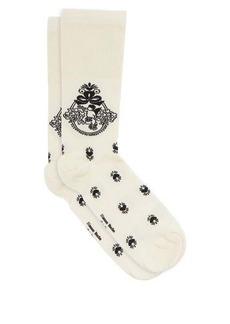 Simone Rocha Cherub-jacquard jersey socks