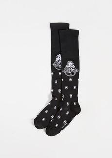 Simone Rocha Cherub Jacquard Knee High Socks