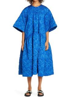Simone Rocha Cloqué Midi Dress