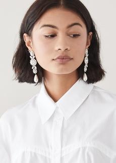 Simone Rocha Jewelled Drop Cameo Earrings