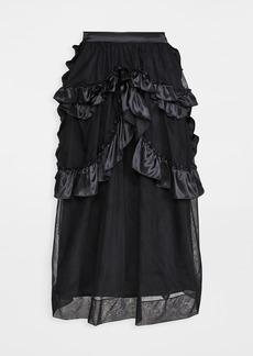 Simone Rocha Skeleton Skirt