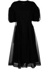 Simone Rocha tulle overlay sculpted dress