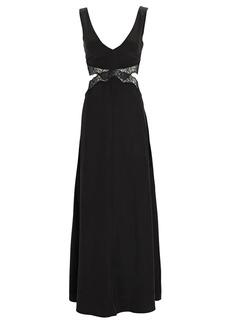 SIR the label Alma Cut-Out Maxi Dress