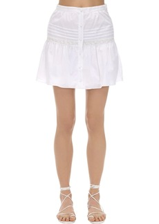 SIR the label Maci Cotton Voile Mini Skirt