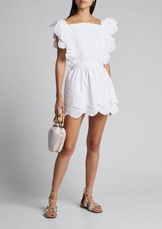 SIR The Label Delilah Ruffled Mini Dress