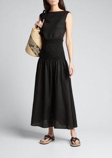 SIR The Label Lorena Open-Back Maxi Dress