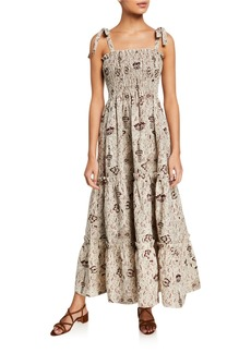 SIR The Label Stella Tiered Maxi Dress