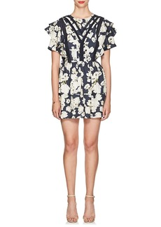 SIR The Label Women's Bellagio Floral Silk Dress