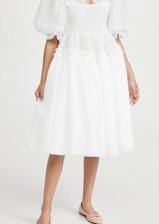 Sister Jane Aurelie Oversized Midi Dress