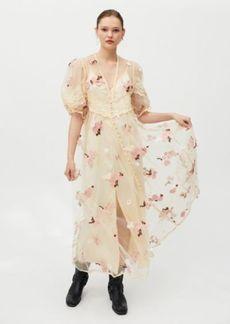 Sister Jane Beloved Embroidered Maxi Dress