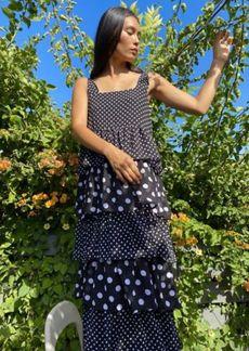 Sister Jane Sugar Blossom Tiered Maxi Dress