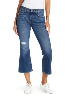 Siwy Sarah Jane Distressed Flared Crop Jeans