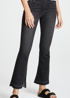 Siwy Vicky High Rise Flare Jeans with Slit