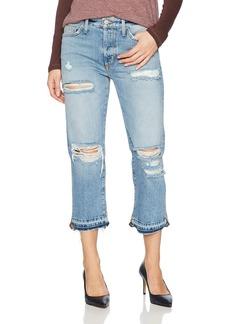 Siwy Women's Elle Crop Straight Jeans