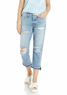 SIWY Women's Elle Crop Straight Jeans in