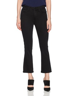 Siwy Women's Emmanuelle High-Waisted Crop Flare Jeans in
