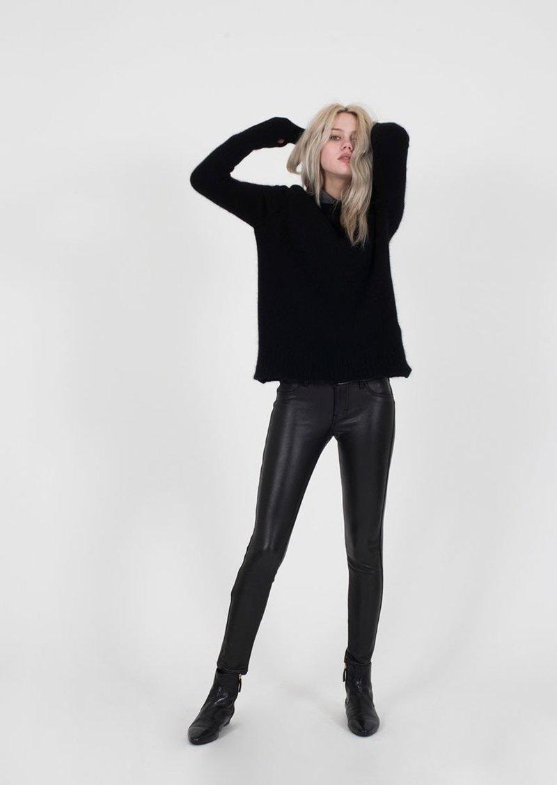 Siwy Women's Hannah Wet Look Slim Crop Jean