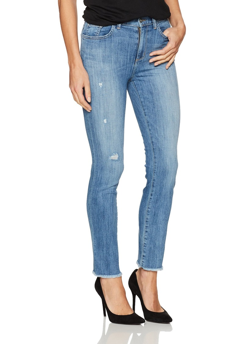 SIWY Women's Jackie High-Waisted Slim Straight Jeans in