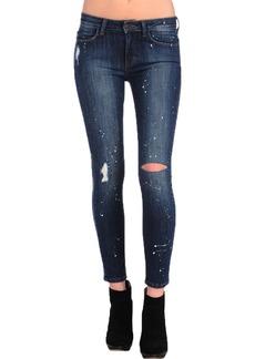 SIWY Women's Ladonna Mid Rise Slim Crop Jean in  Wash