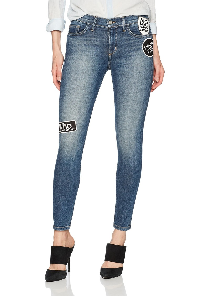 Siwy Women's Lauren Mid Rise Skinny Jeans in Alone with You