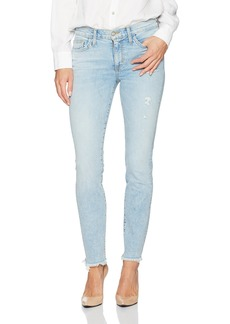 Siwy Women's Lauren Mid Rise Skinny Jeans in Too Deep