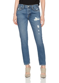 SIWY Women's Nona Mid Rise Skinny Jeans in Back in The Days