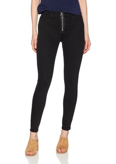 Siwy Women's Olga Mid Rise Front Zip Skinny Jeans