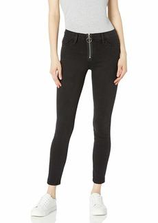 SIWY Women's Olga Mid Rise Front Zip Skinny Jeans in