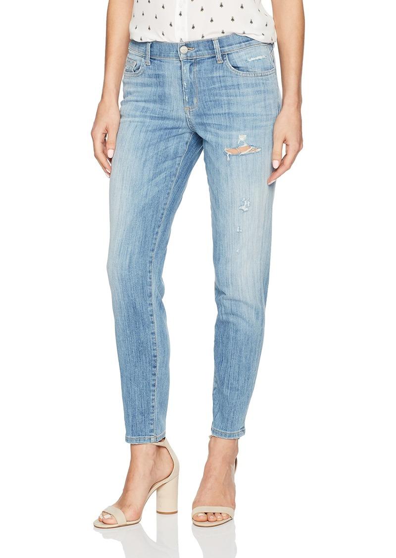 SIWY Women's Shelby Mid Rise Boyfriend Jeans in