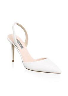 SJP Bliss Leather Slingback Pumps