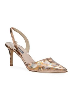 SJP Bliss Rose Hologram Evening Pump