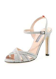 SJP Cadence Sparkle Glitter Sandal