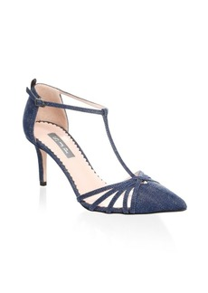 SJP Carrie T-Strap Pumps