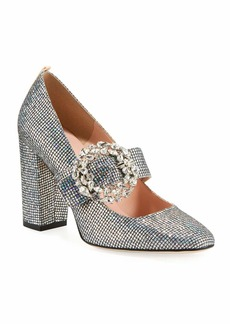 SJP Celine Embellished Sparkle Mary Jane Pump