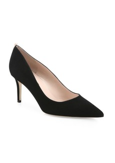 SJP Fawn Point Toe Suede Pumps