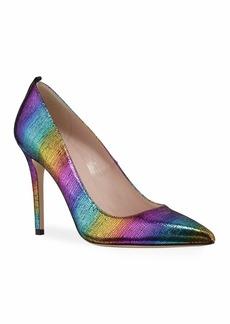 SJP Fawn Rainbow Metallic High-Heel Pumps