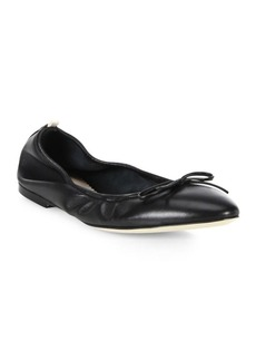 SJP Gelsey Leather Ballet Flats