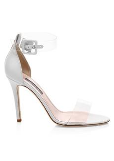 SJP Lively PVC & Leather Stiletto Sandals