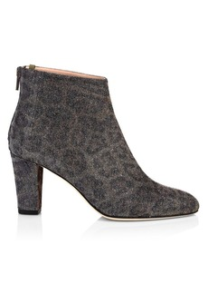 SJP Minnie Leopard-Print Booties