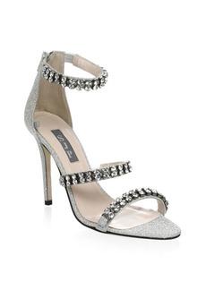 SJP Orbit Embellished Stiletto Sandals