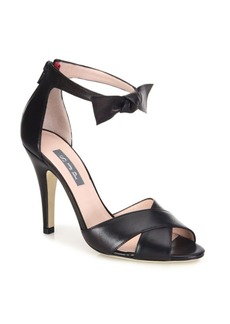 SJP by Sarah Jessica Parker Buckingham Bow Leather Sandals