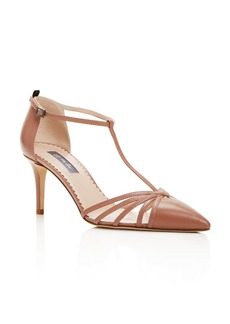 SJP by Sarah Jessica Parker Carrie T Strap Pointed Toe Pumps