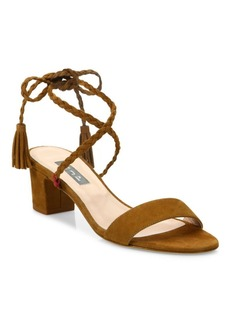 SJP by Sarah Jessica Parker Elope Suede Lace-Up Sandals