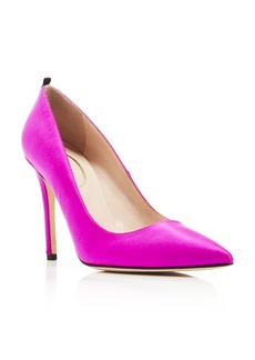 SJP by Sarah Jessica Parker Fawn Satin High-Heel Pumps