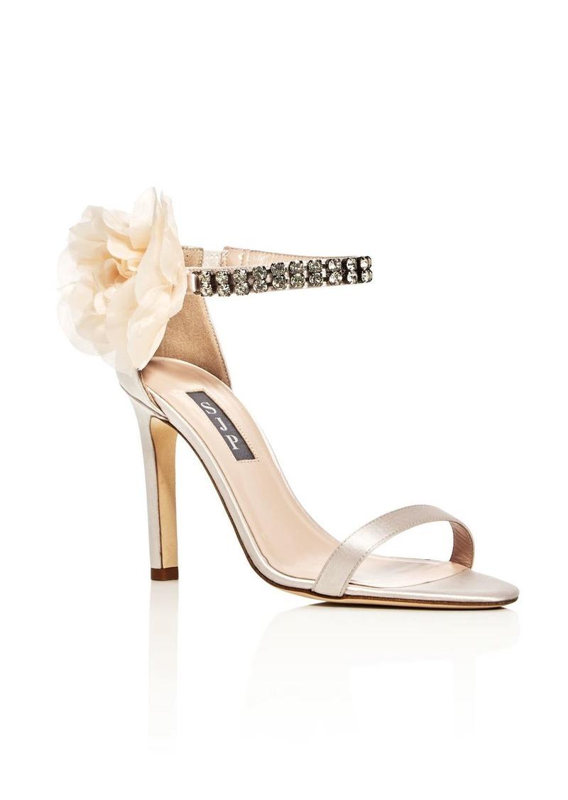 9e276c75da57 by Sarah Jessica Parker Leila Embellished Satin High-Heel Sandals - 100%  Exclusive. SJP