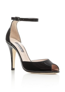 SJP by Sarah Jessica Parker Marquee Patent Leather High Heel Pumps - 100% Exclusive