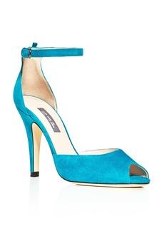 SJP by Sarah Jessica Parker Marquee Suede High Heel Pumps - 100% Exclusive